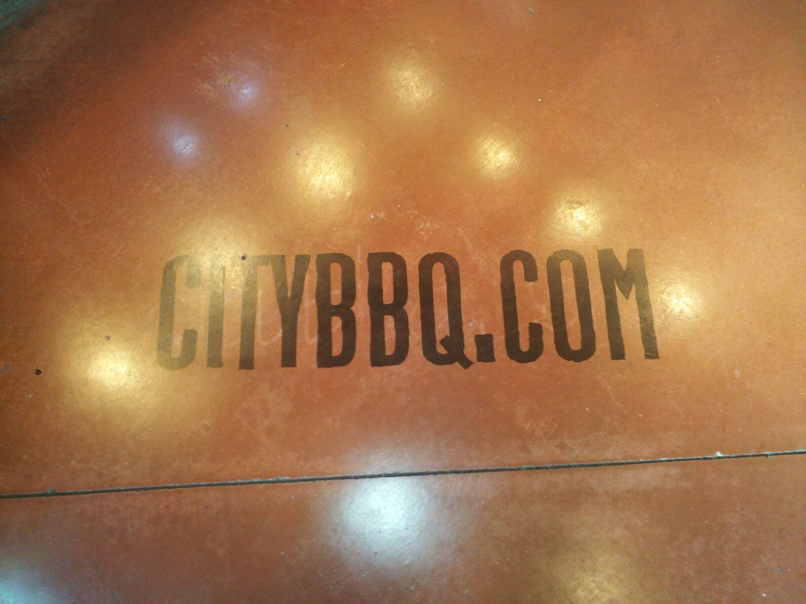 City BBQ Stained Logo Cincinnati Ohio